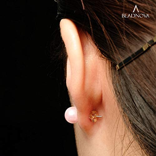 BEADNOVA 14k Gold Earring Backs -6