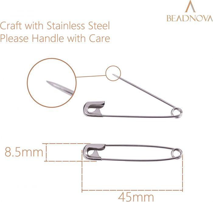 BEADNOVA Safety Pins-45mm