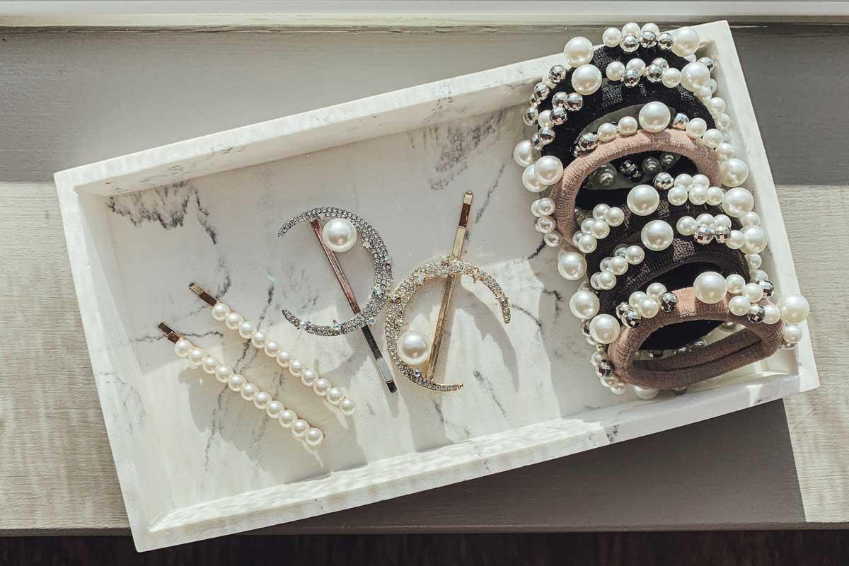 hydrogen peroxide clean fake jewelry