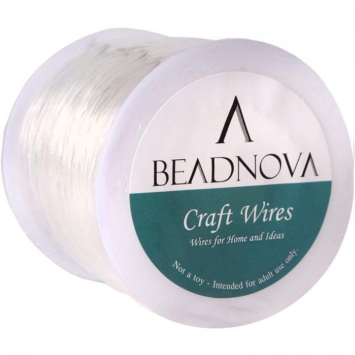beadnova 1.2mm bracelet string clear-1