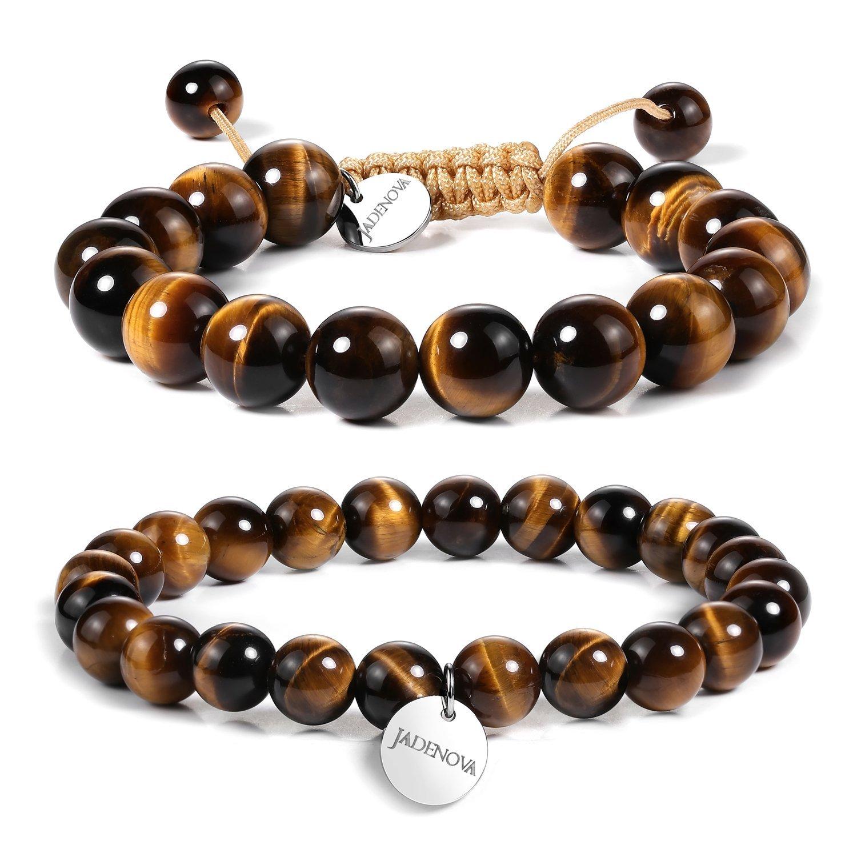 Bead Bracelet Women Gift Ideas for Women Yellow Jade Bracelet 10mm Jade Bracelet Yellow Jewelry Gift Stretch Bracelet Yellow Bracelet