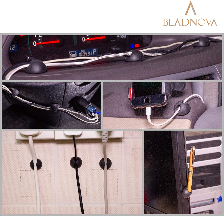 beadnova Cable Clips Cord Organizer