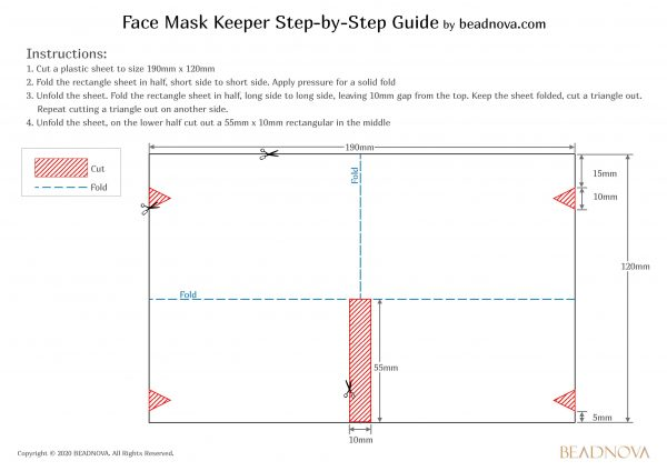Face Mask Keeper tutorial