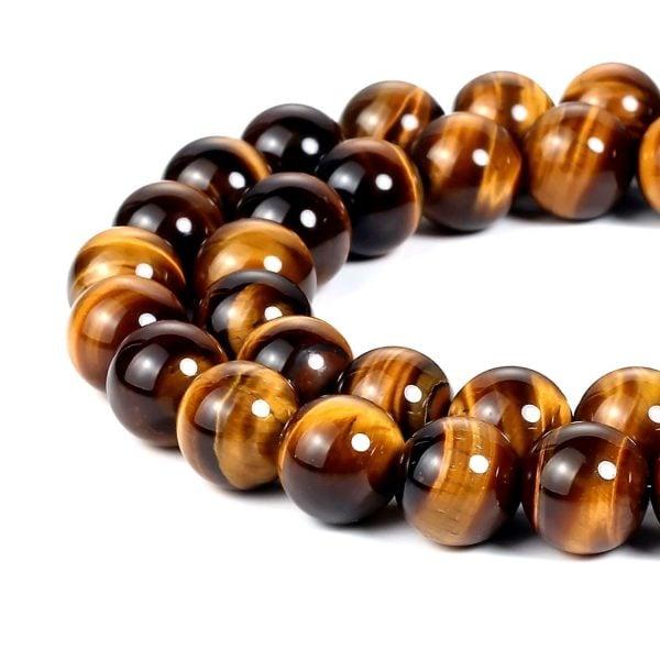 tiger eye beads DIY