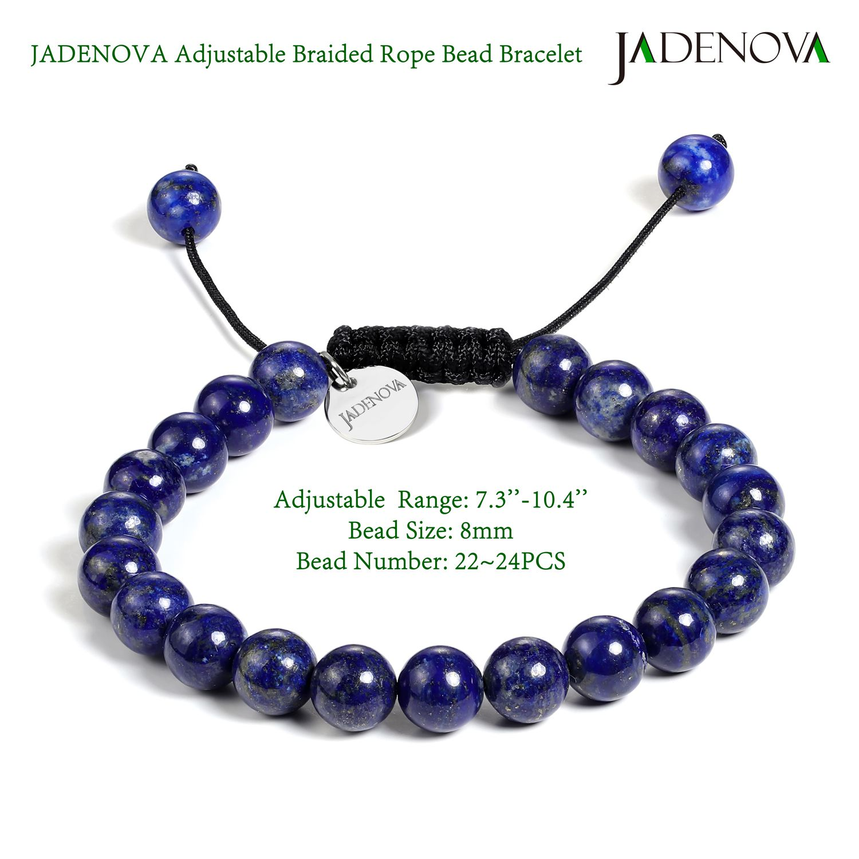 lapis lazuli on elastic wire Sodalite bracelet