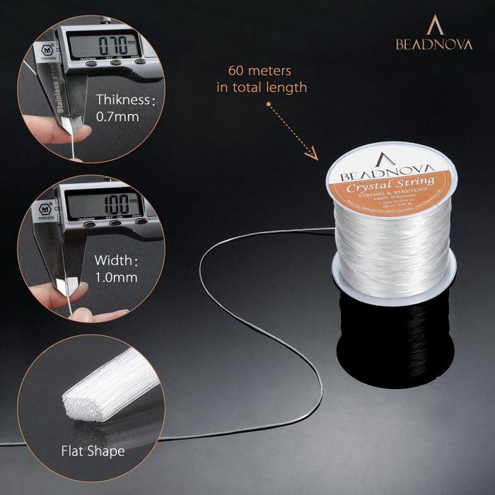 crystal string for bracelet making