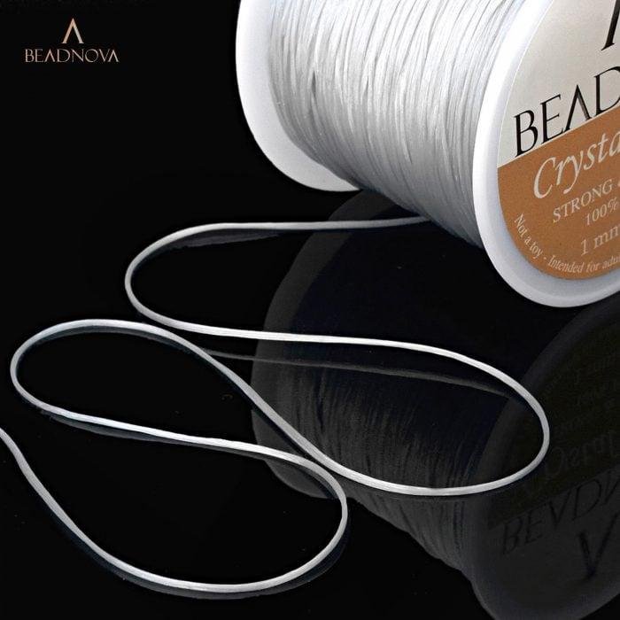 clear crystal string
