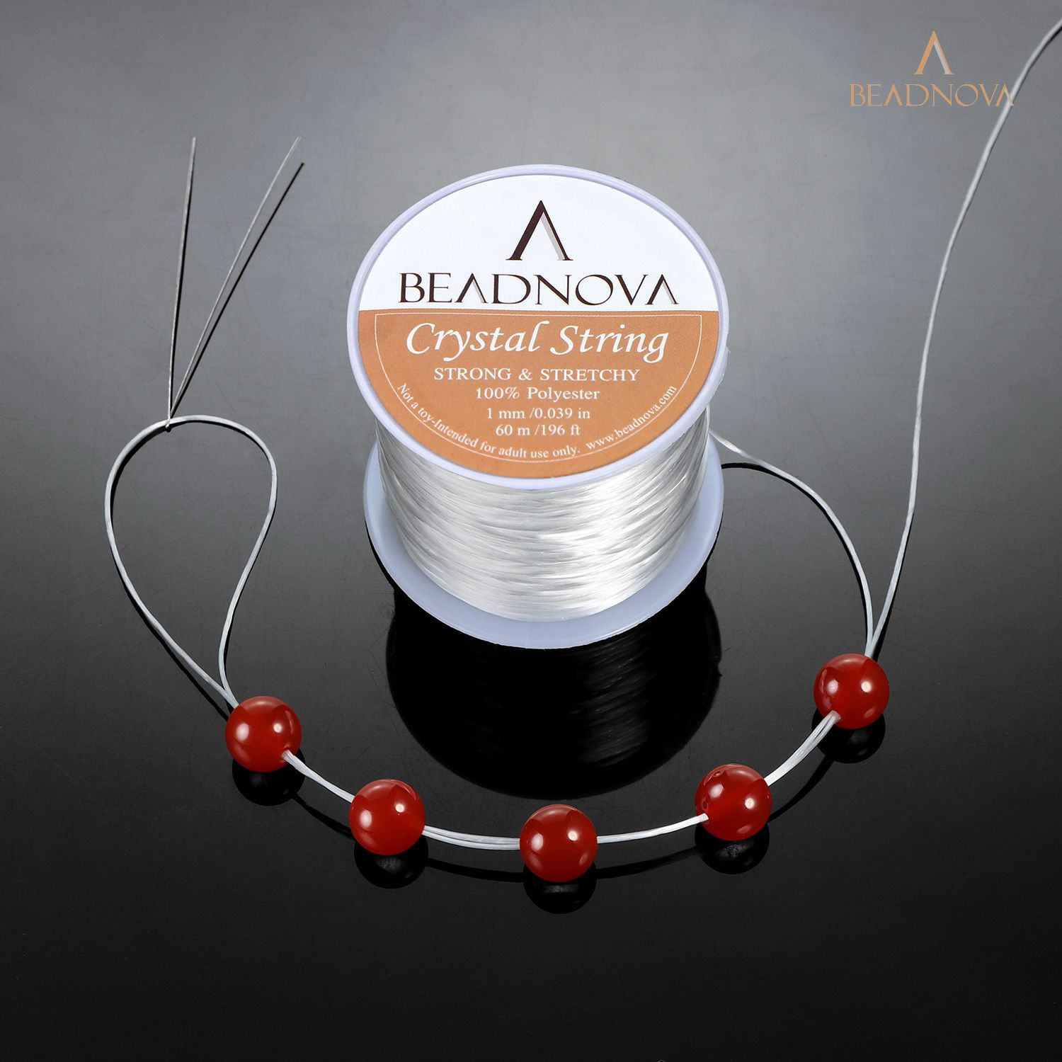 Elastic Clear Bead Thread Stretch Polyester String Cord wire For Jewelry Making