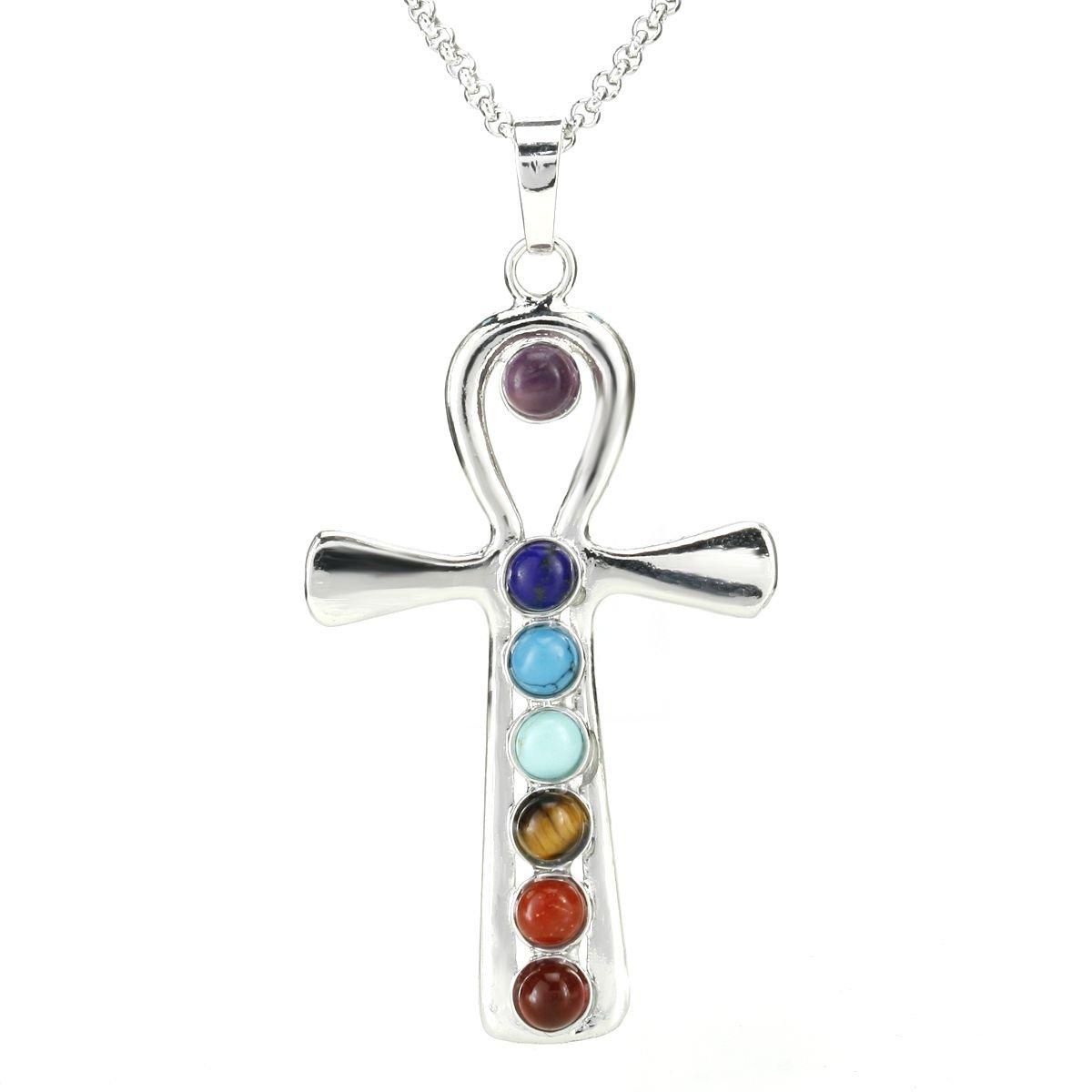 7 chakras necklace