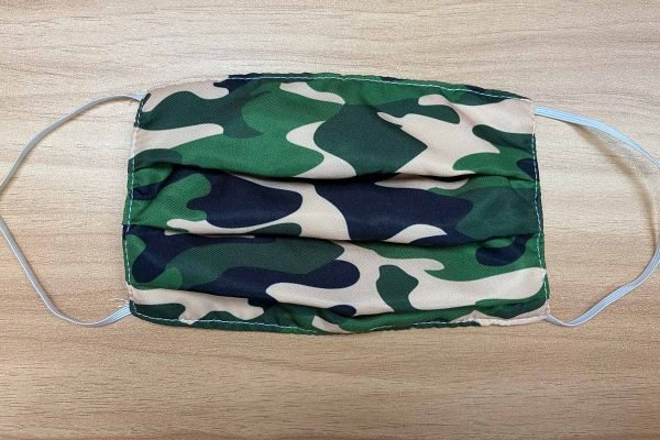 sewing pleated surgical face mask