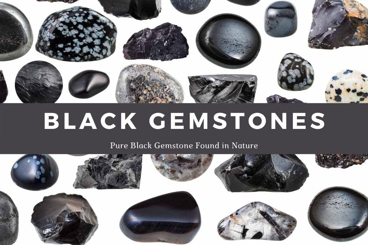 Black Gemstone name list