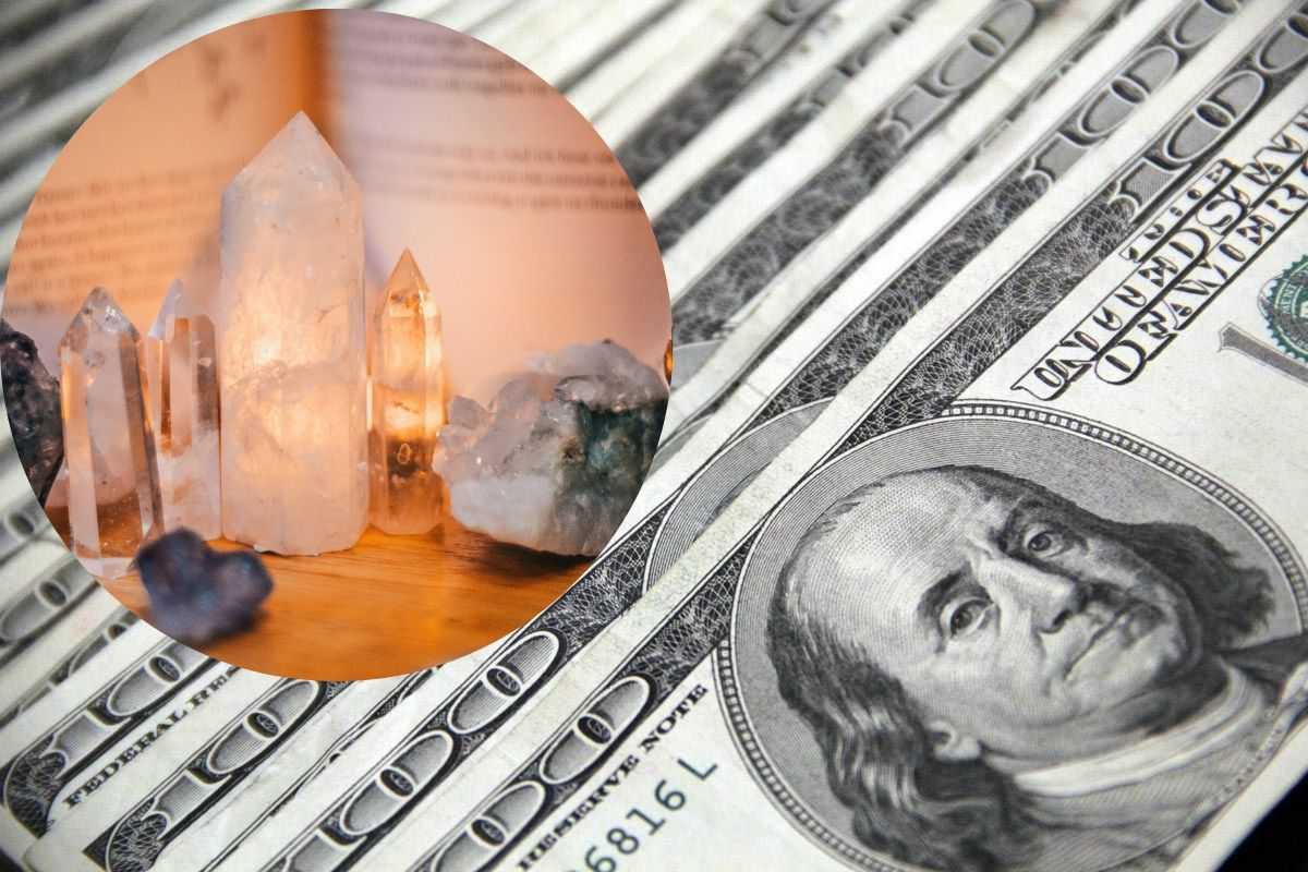 Crystals Attract money