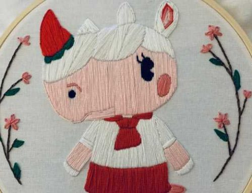 Our 10 Favorite Animal Crossing Villagers Embroidery