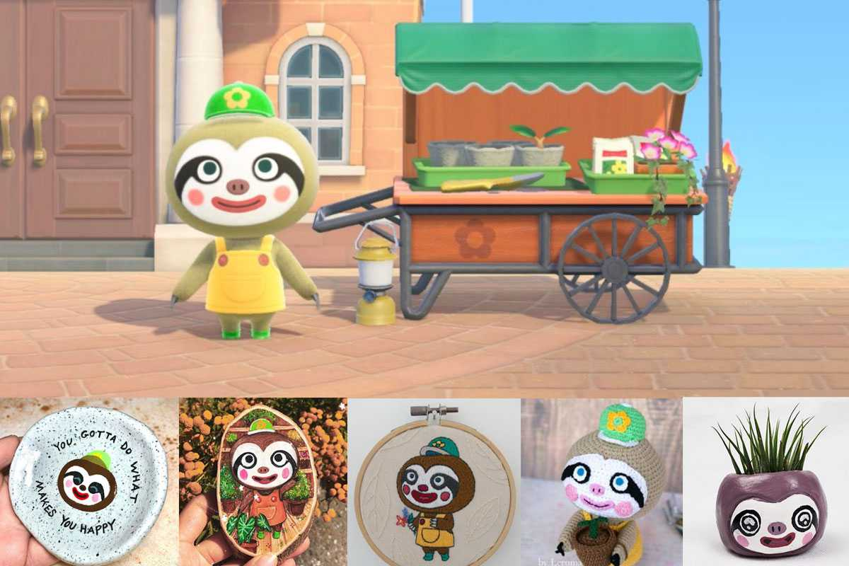 Animal Crossing Leif DIY Ideas