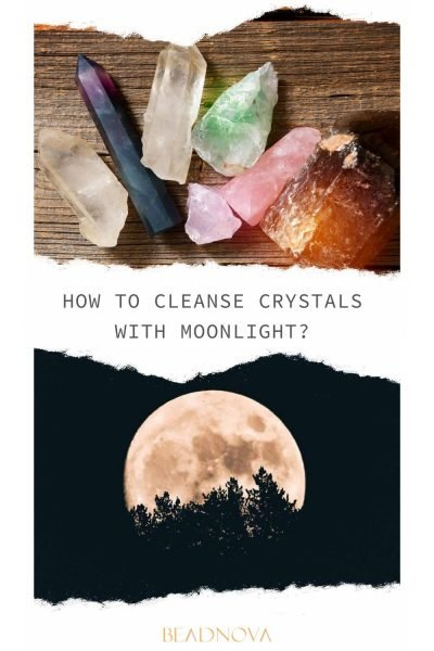 how to cleanse crystal in moonlight