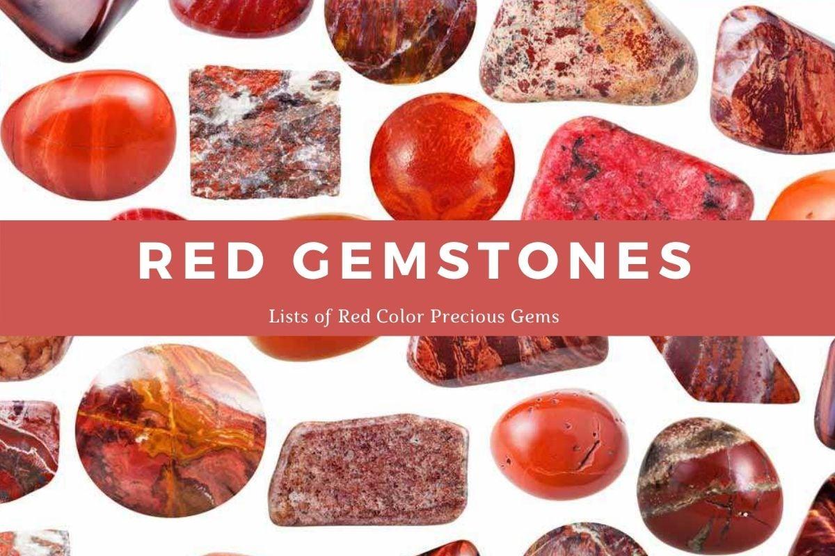 red-gemstones
