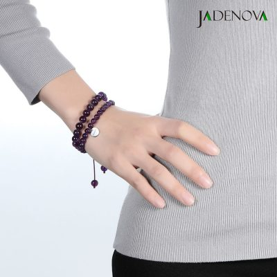 which hand to wear amethyst bracelet