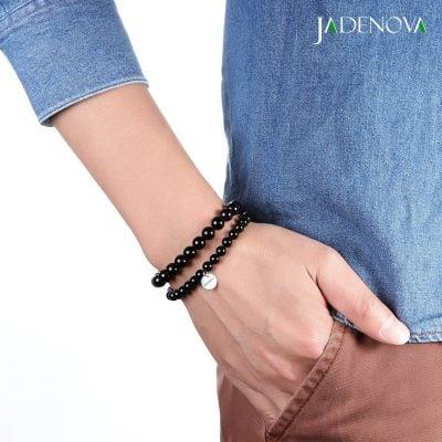 which hand to wear black onyx bracelet