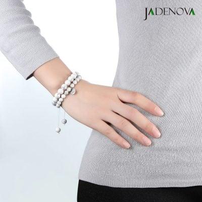 which hand to wear howlite bracelet