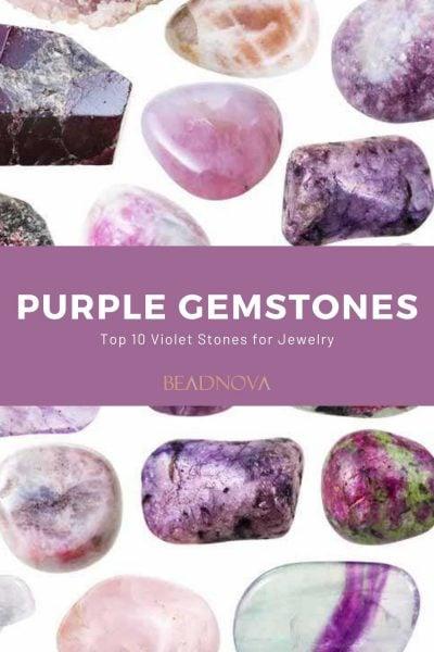 Purple Gemstone Names list