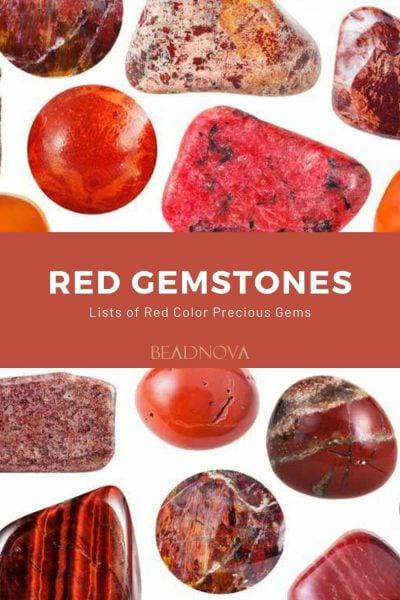 Red-Gemstone-Names-List