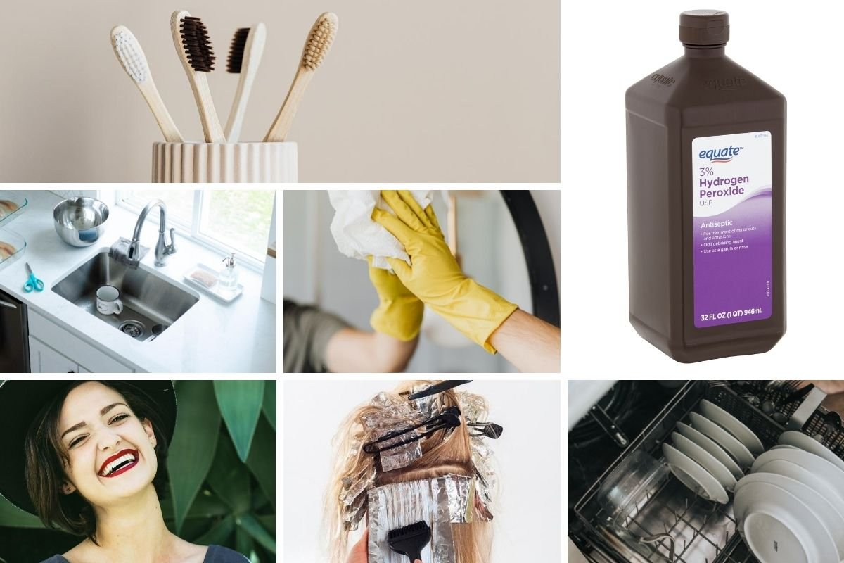 15 Cleaning Uses for Hydrogen Peroxide