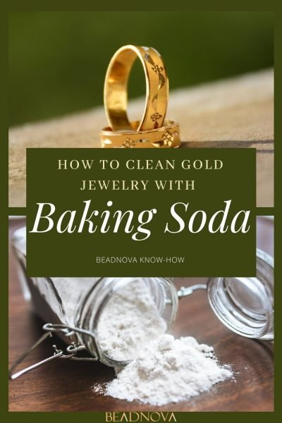 how to Clean Gold Jewelry with Baking Soda