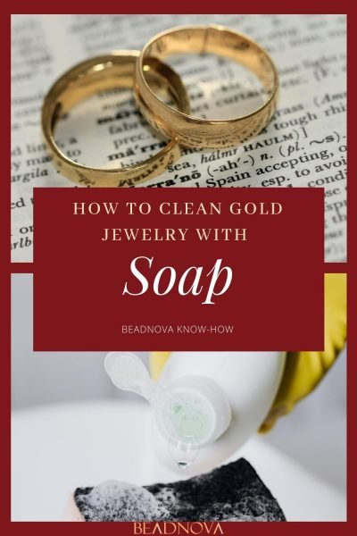 how to Clean Gold Jewelry with dish soap