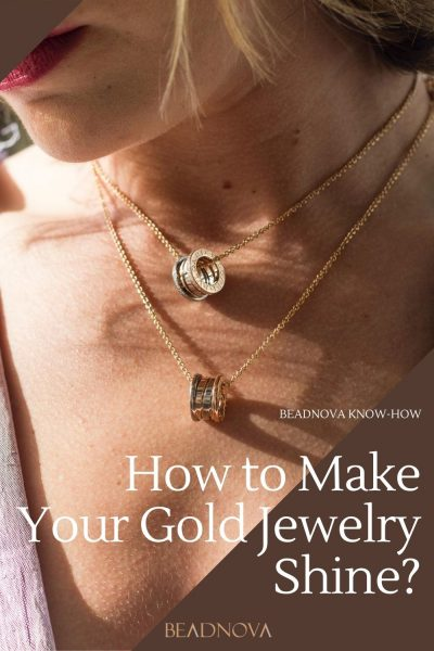 how to make your gold jewelry shine