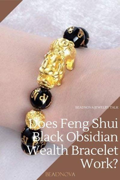 Does Feng Shui Black Obsidian Wealth Bracelet Work