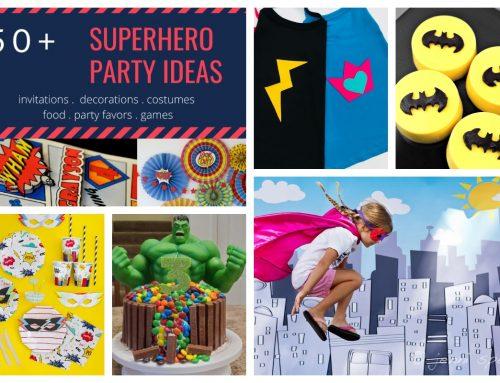 Superhero Party – Smashing & Easy DIY Party Ideas