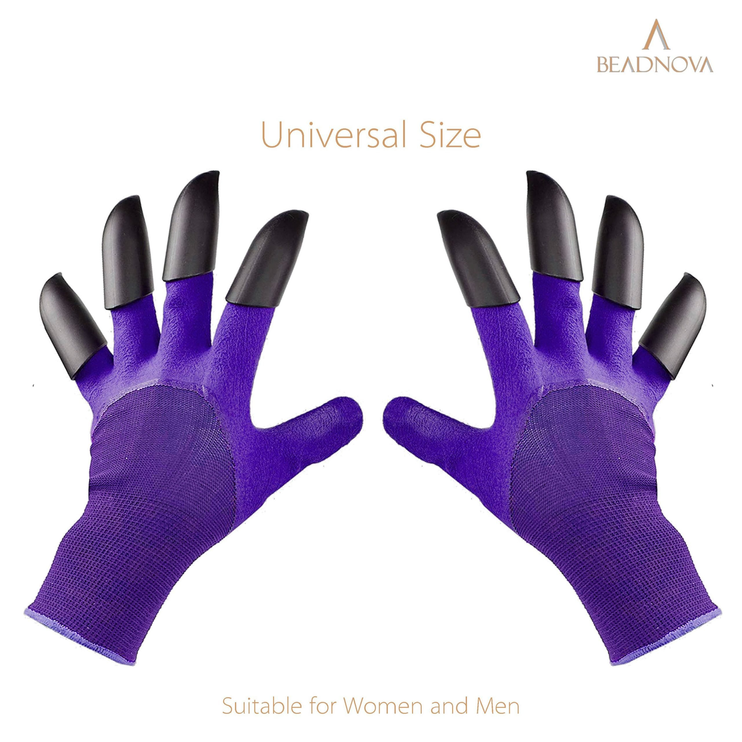 Gardening-Gloves-With-Claws-Digging-Gloves-Purple-2pairs