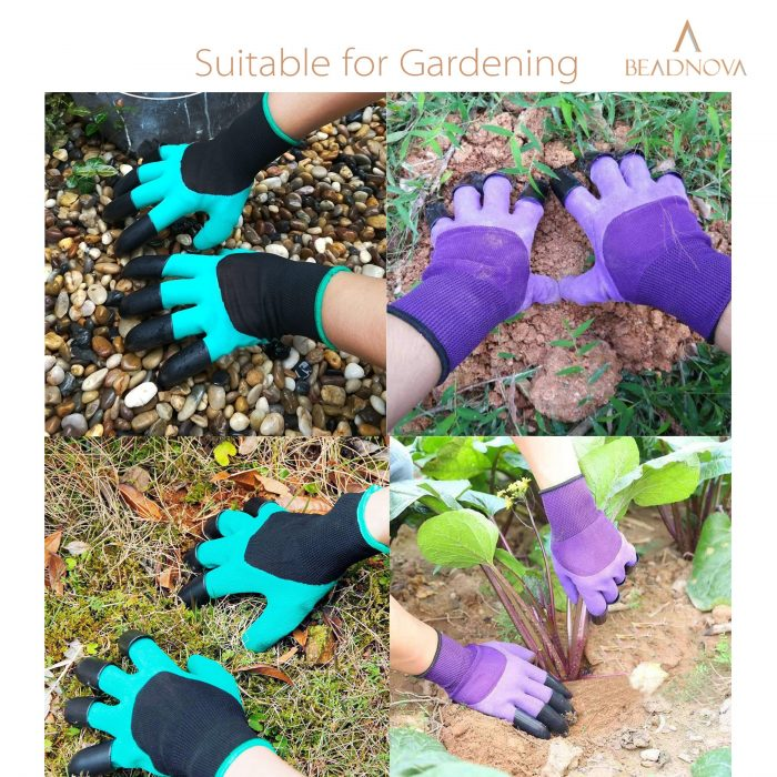 Gardening-Gloves-With-Claws-Digging-Gloves-Green-2pairs