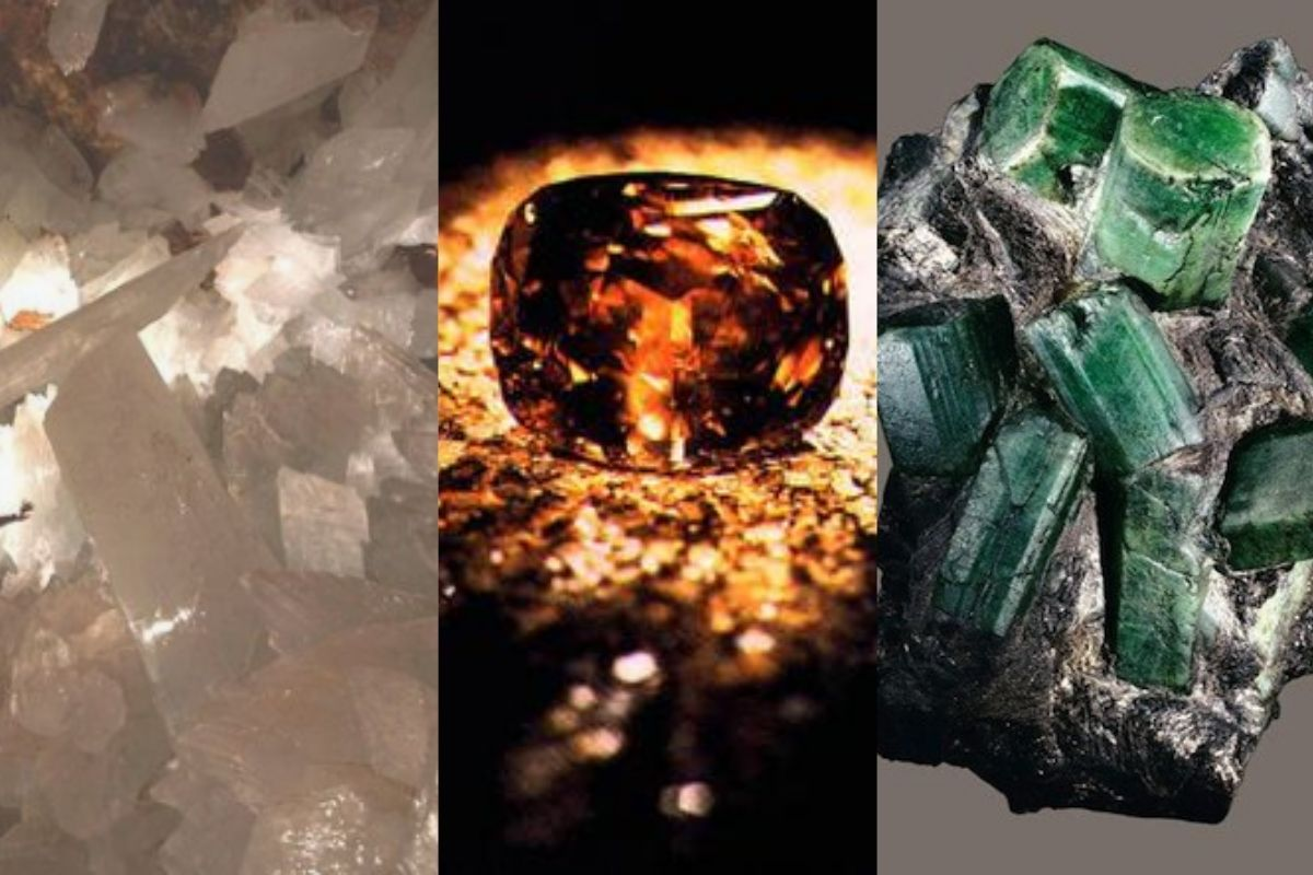 The Largest Crystals and Precious Gemstone