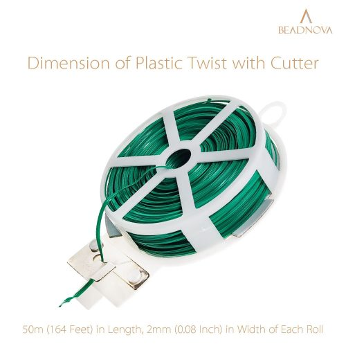 Twist-Ties-Garden-Twisty-Ties-Green-50M-164-Feet