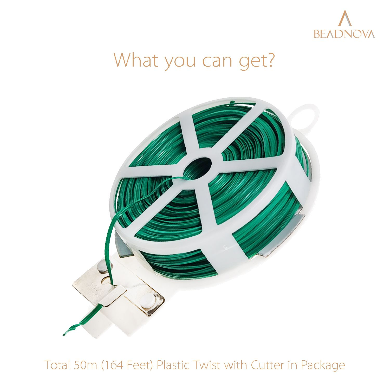 Twist-Ties-Garden-Twisty-Ties-Green-50M-164-Feet