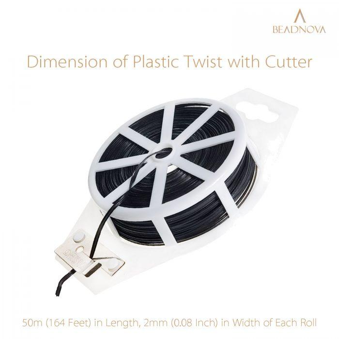 Twist-Ties-Garden-Twisty-Ties-Black-50M-164-Feet
