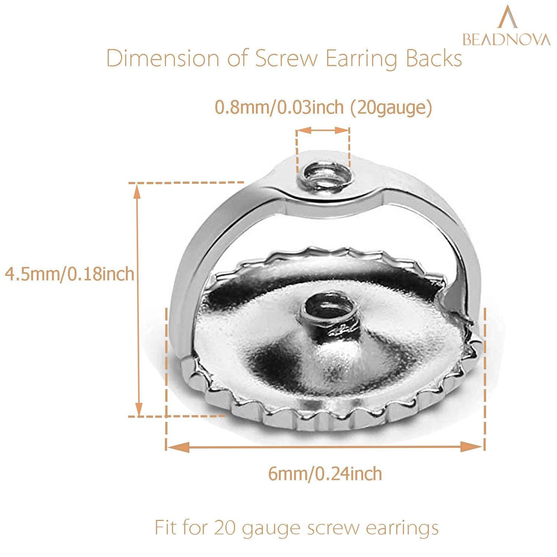 925-Sterling-Silver-Screw-Earring-Backs-20-Gauge-4-pcs
