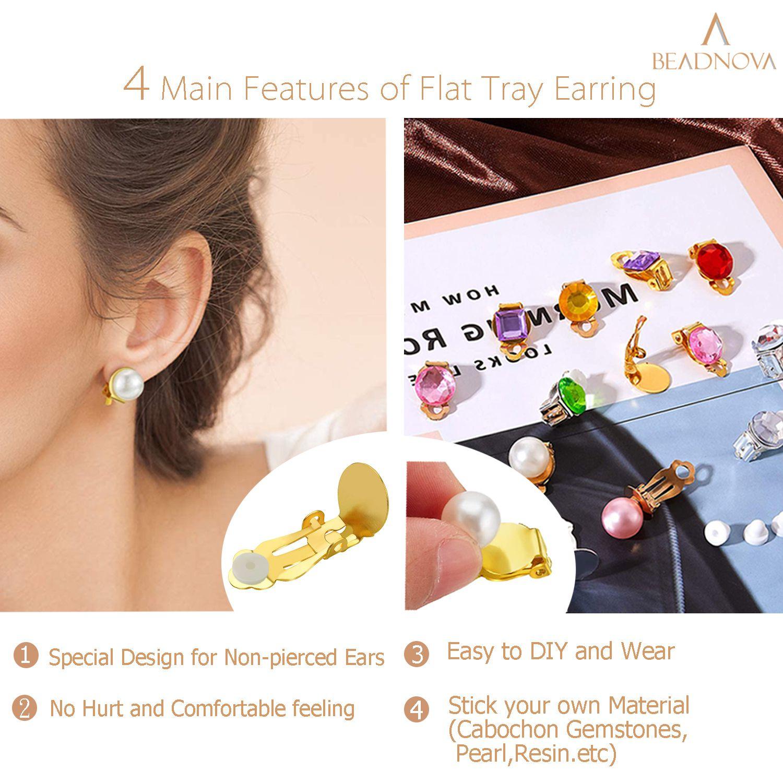 Clip-On-Earring-Backs-Flat-Tray-Earring-Clips-24-Pcs