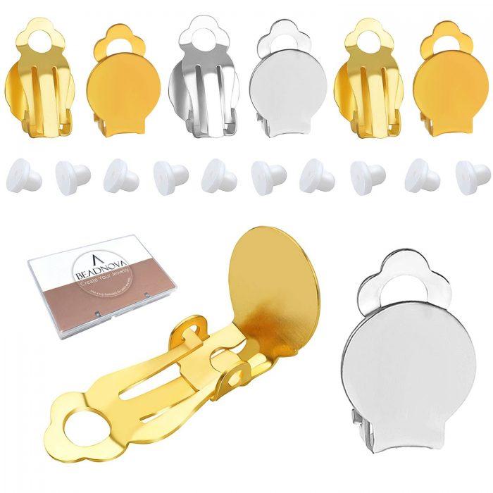Clip-On-Earring-Backs-Flat-Tray-Earring-Clips-64-Pcs