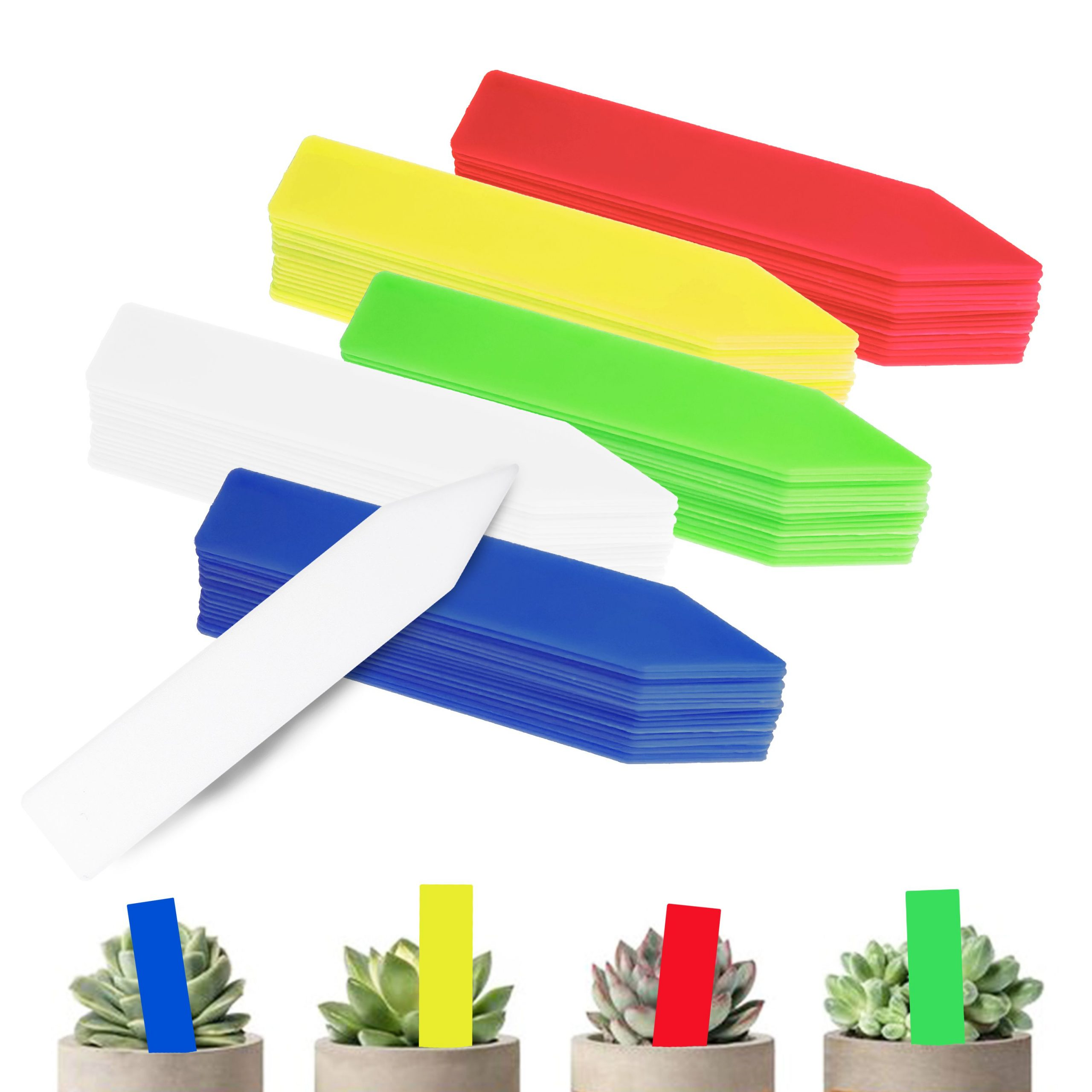 Garden-Tags-Plant-Markers-Plant-Tags-Mix-Colors-100-Pcs