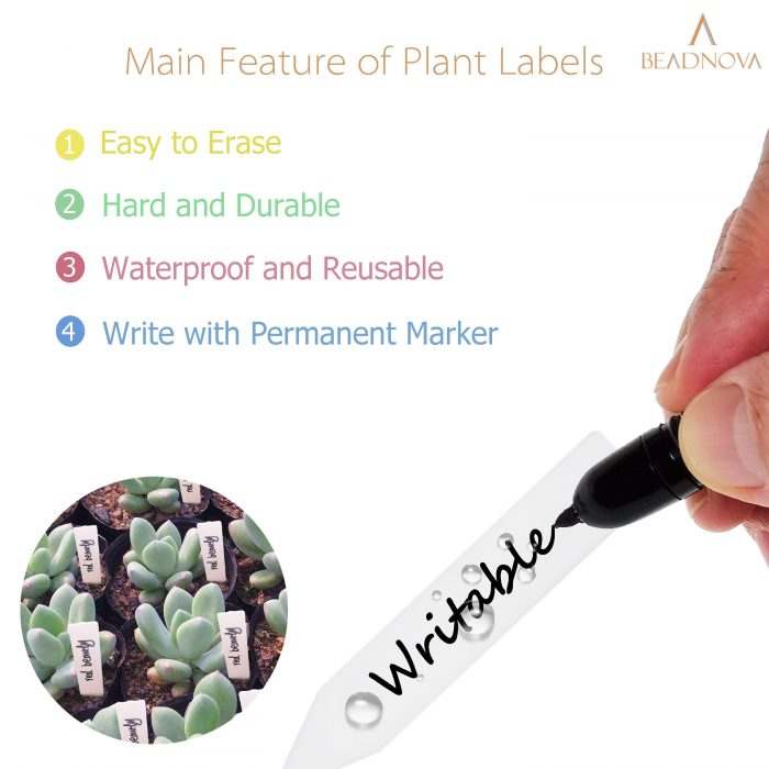Plant-Labels-Plant-Tags-Garden-Labels-Mix-Colors-140-Pcs