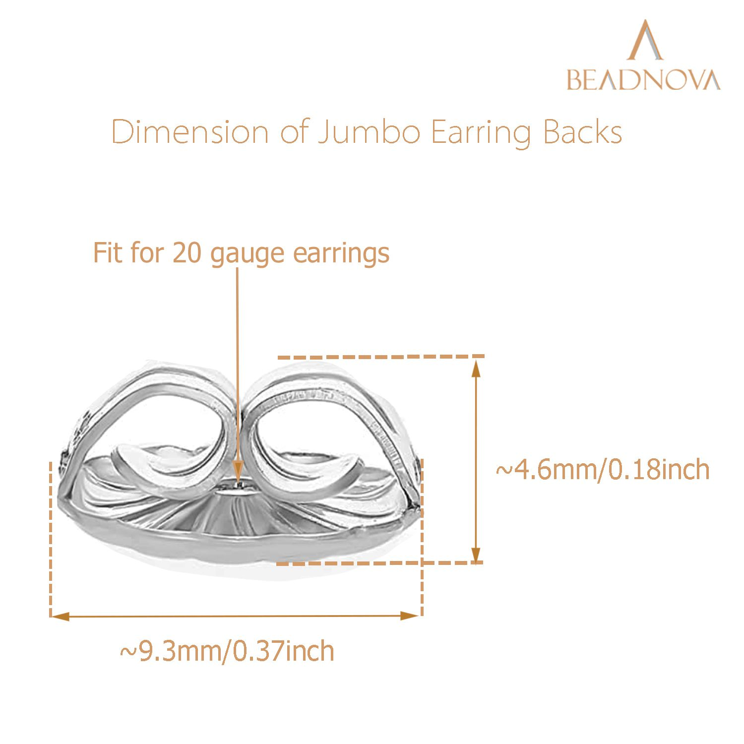 925-Sterling-Silver-Jumbo-Earring-Backs-2-Pairs