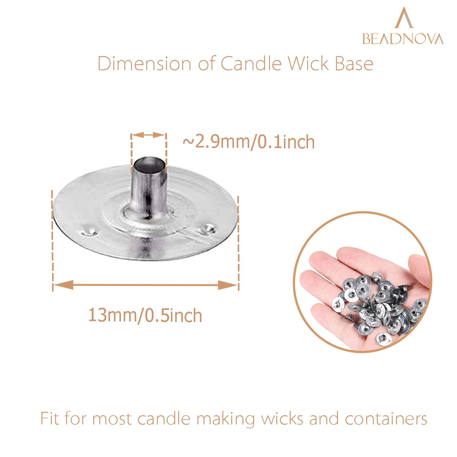 Candle-Wick-Tabs-Metal-Wick-Sustainer-Tabs-100-Pcs