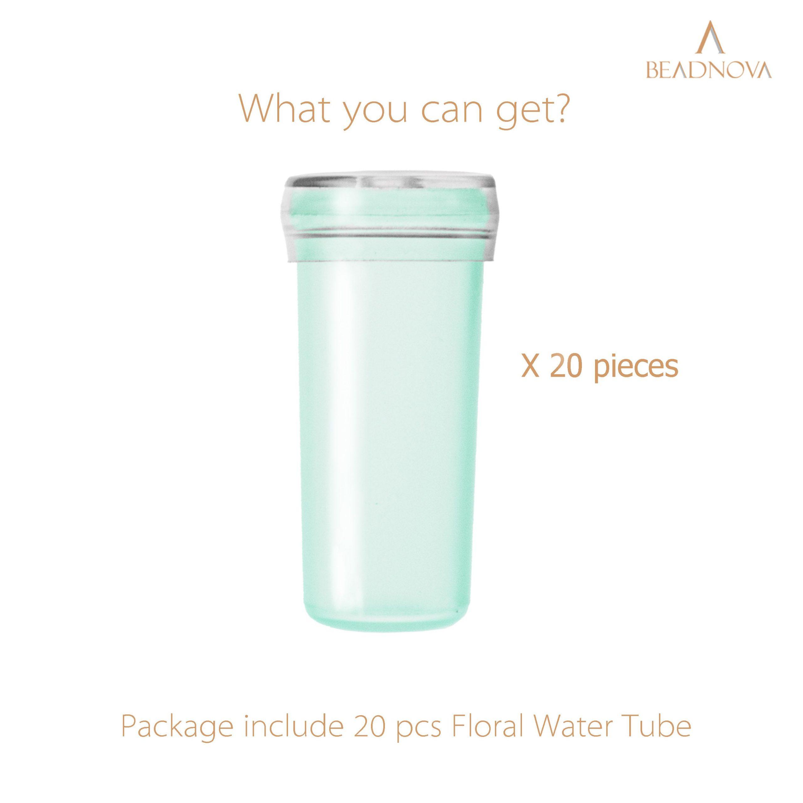 Floral-Water-Tubes-Green-Flower-Vials-4cm-20pcs
