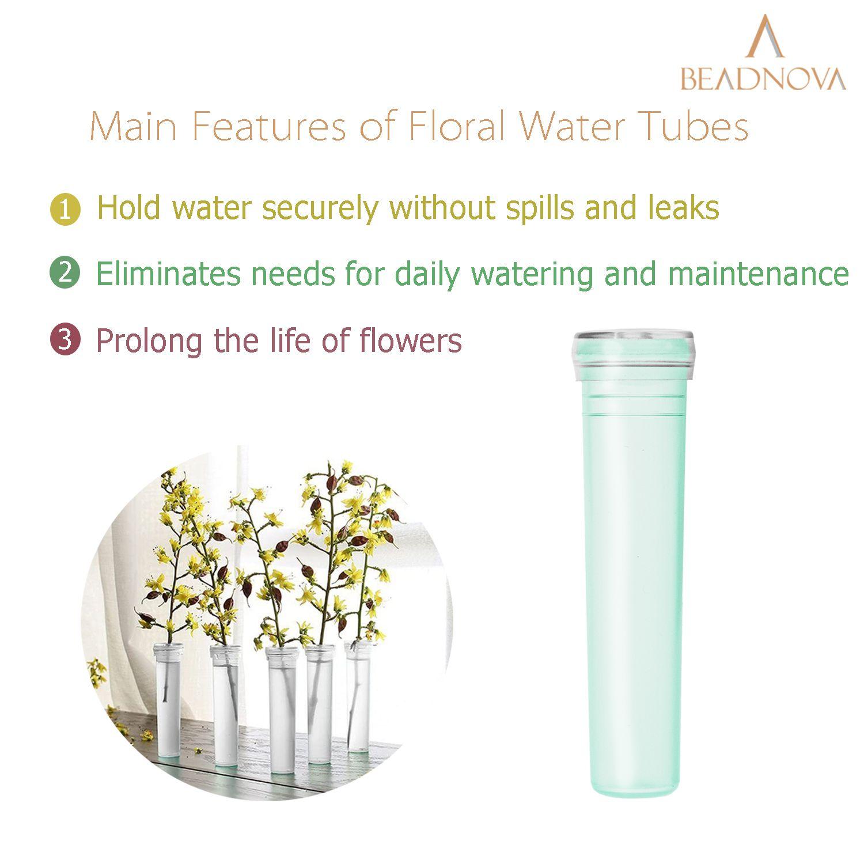 Floral-Water-Tubes-Green-Flower-Vials-7cm-60pcs