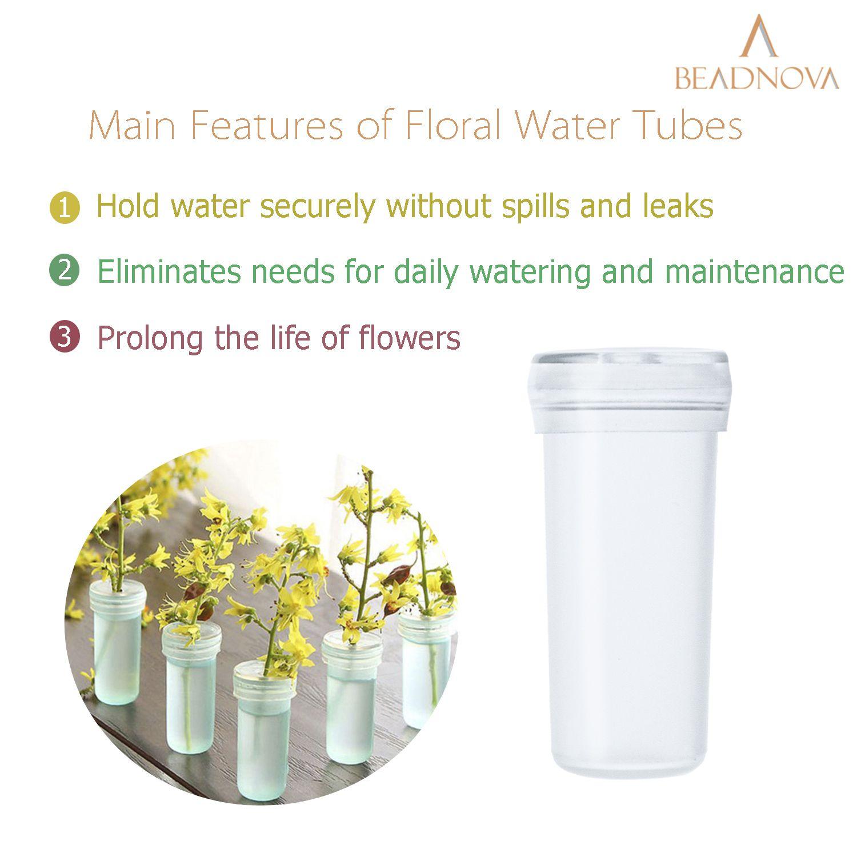 Floral-Water-Tubes-Clear-Flower-Vials-4cm-60pcs