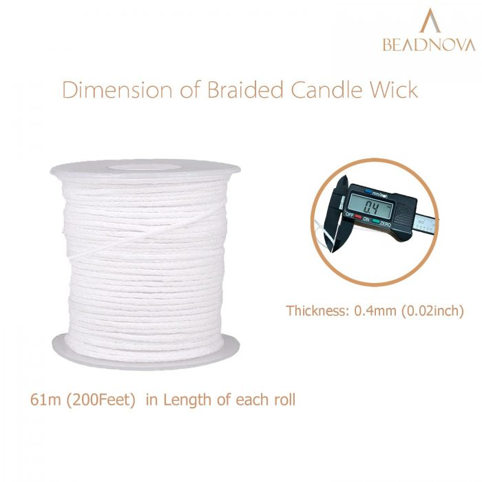Braided Candle Wick