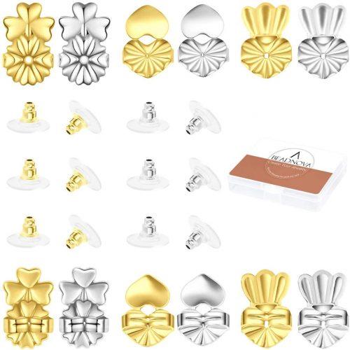 BEADNOVA Magic Earring Lifter Earring Back for Droopy Earring-