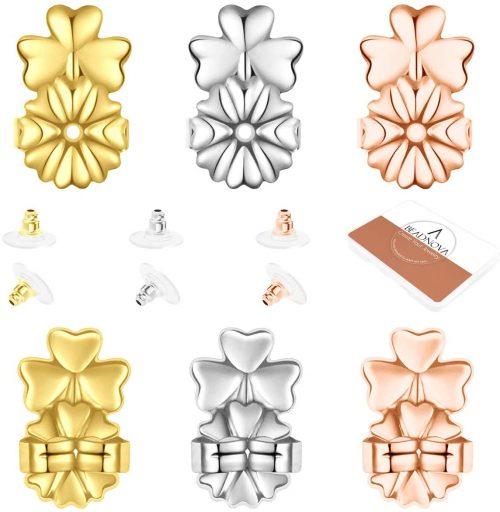 BEADNOVA Magic Earring Lifters Earring Back with Pad-B07YY2CB28-1